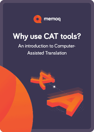 Why use cat tools? - memoQ