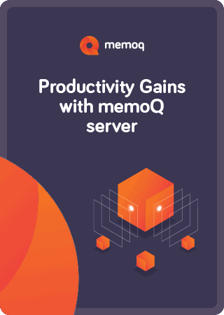 Server productivity ebook - memoQ