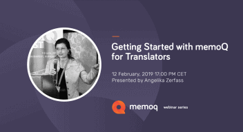 Getting started with memoQ for translators