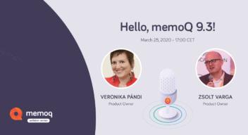 Veronika Pandi - Zsolt Varga | memoQ 9.3